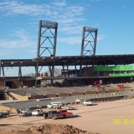 Diamondbacks and Rockies Stadium